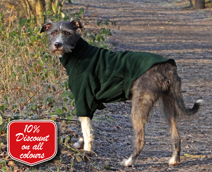 Fleece Dog Jumpers To Help Dogs Stay Warm Clean And Calm